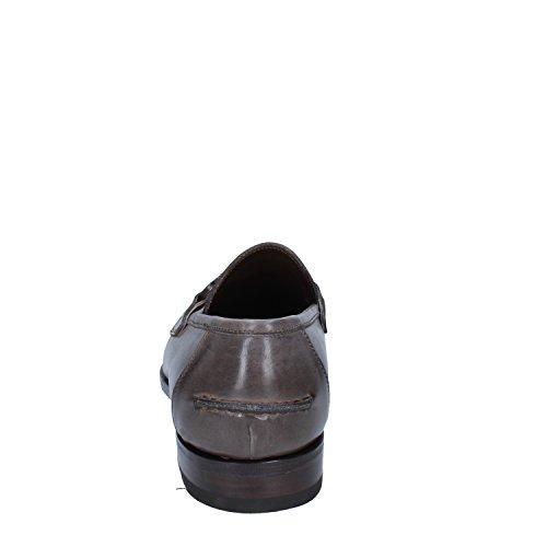 CALPIERRE Mocasines de Piel para hombre Gris gris