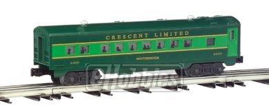 Streamliner 4 Car Set (O-27 Williams Streamline Pass Set, SOU/Crescent(4))