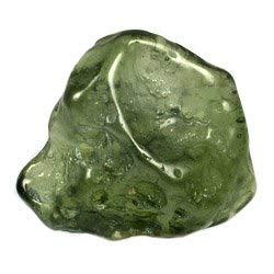 CrystalAge Moldavite Mini Tumble Stone