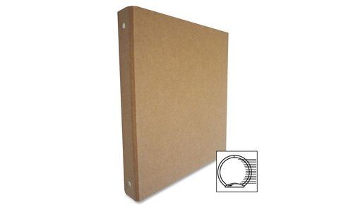 Wholesale CASE of 25 - Aurora Prod. Recycled 3-Ring Chipboard Binders-3-Ring Binder, Recycled, 1