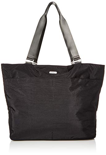 - Baggallini Carryall Tote, Black/Charcoal, One Size