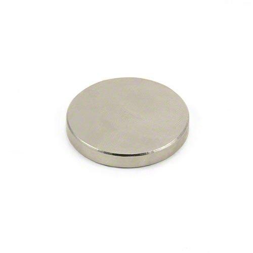 Magnet Expert 35mm Dia x 5mm Thick N42 Neodymium Magnet - 13.9kg Pull (Pack of 1)