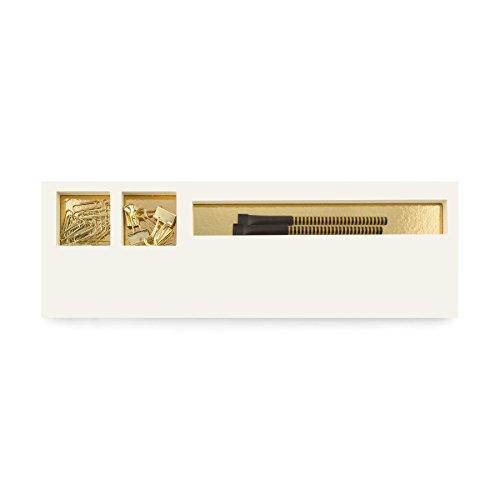 Three By Three Seattle Jotblock Classic Gold Foil-(70008)