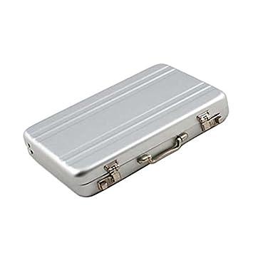 Amazon mini briefcase business card case id holders password mini briefcase business card case id holders password aluminium credit card holder white colourmoves