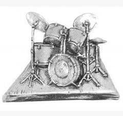 Regalo En Caja Peltre Músico De La Música Tambores Corbata - Pin ...