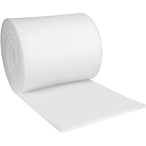 Boxes Fast BFFR2436 Soft Foam Rolls, Load Capacity, 432'' Length, 24'' width, 1'' Thick,, White ( by Boxes Fast