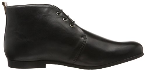 Sole W Midcut Uomo Nero Royal Stringate Black Scarpe Derby Cast Nero Base RepubliQ TSHXXxC