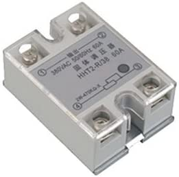 1PCS 24V-380V 40A 250V SSR-40 DA Solid State Relay Module 3-32V DC To AC