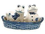 windmill salt and pepper shakers - Frogs Salt and Pepper Shakers: Frogs/Basket