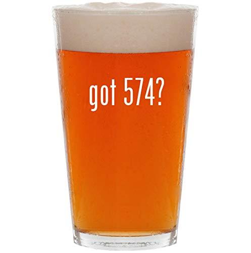 got 574? - 16oz All Purpose Pint Beer Glass