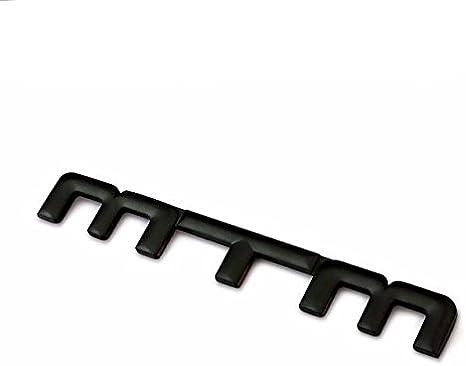 Metal Negro MTM emblema insignia 3d pegatina para Volkswagen VW ...