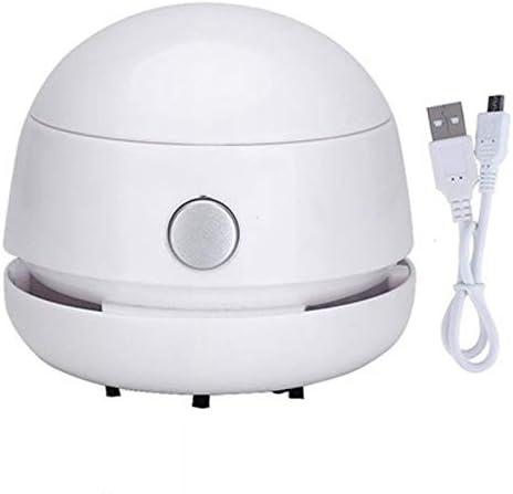 QIA Aspirador de Polvo portátil de Carga USB de Escritorio ...