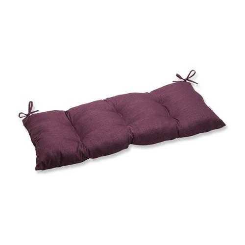Pillow Perfect Indoor/Outdoor Rave Vineyard Swing/Bench Cushion (Swing Vineyard Porch)