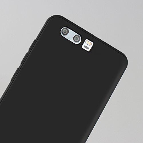 Funda para Huawei Honor 9 , IJIA Puro Negro Adorable Pony TPU Silicona Suave Cover Tapa Caso Parachoques Carcasa Cubierta Case para Huawei Honor 9 (5.15) Black-WM116