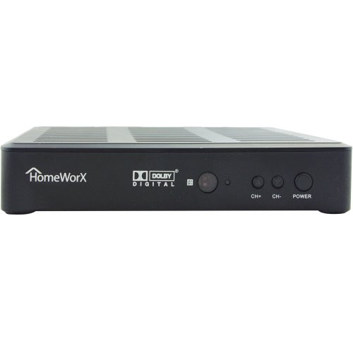 Mediasonic Hw180stb Homeworx Hdtv Digital Converter Box With Media Player Function  Dolby Digital And Hdmi Out  Old Version