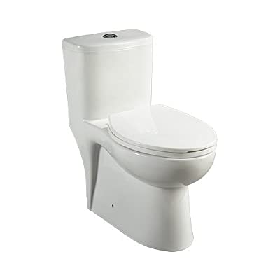 Mirabelle MIRAL241 Alledonia One-Piece High Efficiency ADA Height Toilet with El,