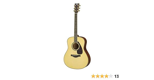 Yamaha serie ll16 m madera maciza de caoba guitarra electroacústica: Amazon.es: Instrumentos musicales