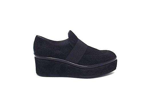 Janet & Janet - Zapatos de cordones para mujer negro negro
