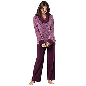 PajamaGram Super Soft Pajamas for Women – Fleece Pajamas Women