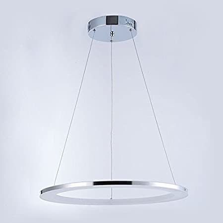 Homelava modern acrylic led circle pendant light 1 tier ceiling lights cold white