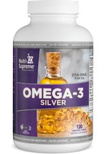 - Nutri Supreme Omega 3 Silver Fish Oil 120 Softgels