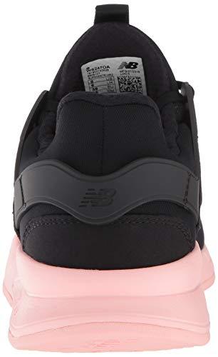 Coral Nero Balance New black himalayan Donna 247v2 Pink Sneaker 8WC6q