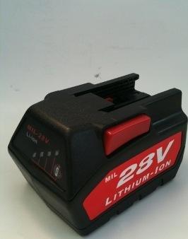 Milwaukee 28V 3.0AH Power Tool Battery for V28 Sawzall Reciprocating Saw Kit, 0719-22, 0721-21, 48-11-2830 By (22 Sawzall)