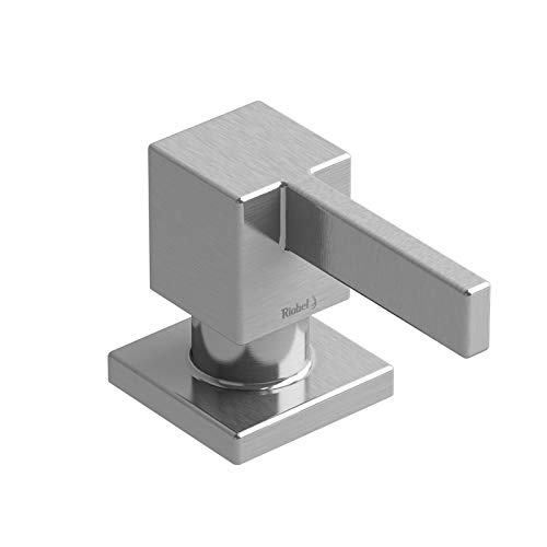 Riobel SD4SS Square soap dispenser, modern SS