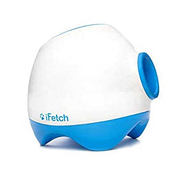 iFetch Too Interactive Ball Thrower for Dogs-Launches Standard Tennis Balls, Large by iFetch