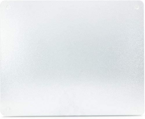 Black Tiger White Grey Glass Chopping Board Kitchen Worktop Saver Protector