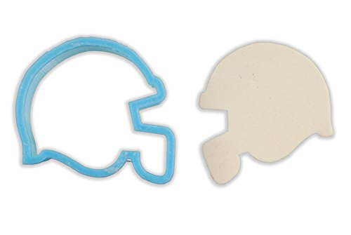 Football Helmet Cookie Cutter - LARGE - 4 Inches