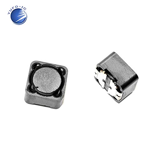 Maslin 50Pcs Chip Power Inductor CDRH127 12127 CD127 3.3UH 4.7UH 10UH 22UH 33UH 47UH 56UH 68UH 100UH 150UH 220UH 330UH 470UH 680UH