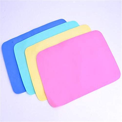 1Pc Car Cleaning Towel Cloth Washing Wipe Absorbent Chamois Synthetic Kitchen Scouring Pad 30x43cm