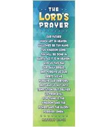 (Bookmark - Kids - The Lords Prayer - (Pack of 25))