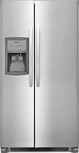 Frigidaire FFHX2325TS 33 Inch Freestanding Side by Side Refrigerator with 22.1 cu. ft Capacity, in Stainless Steel ()
