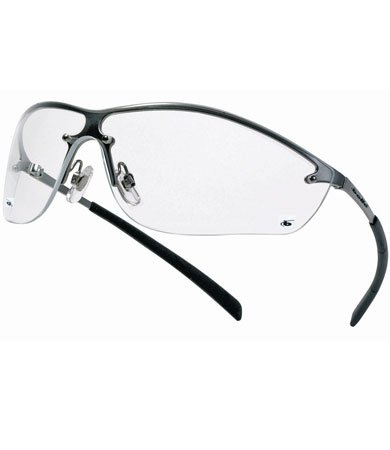 140a81a5ae7 Bolle Safety 253-SM-40073 Silium Eyewear Silver Metal Frame Clear Lens  (Pack of 180) - Buy Online in Oman.