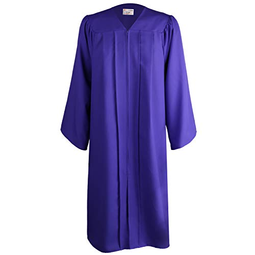 OSBO GradSeason Unisex Matte Robes for Graduation Gown, Choir Robes, Pulpit Robe and Pastor - Choir Gown