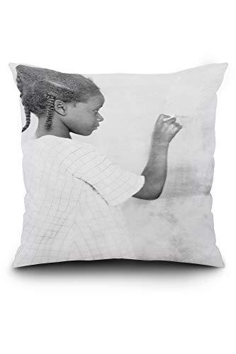 (Lantern Press Fred Clarke, Pittsburgh Pirates, Baseball Photo (20x20 Spun Polyester Pillow, Square))