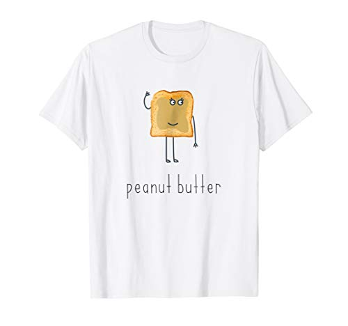 Peanut Butter and Jelly Best Friend Matching Couples Shirt