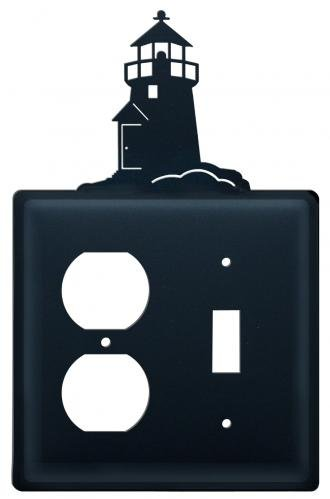 8 Inch Lighthouse Single Outlet and Switch - Outlet Stores Lighthouse