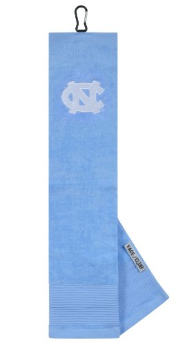 North Carolina Tar Heels Face/Club Embroidered Towel ()