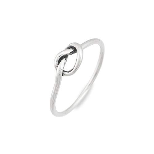 Annie LeBling Girls Jewelry ''in Harmony'' Ring by Annie Leblanc - Sterling Silver Band Knot Design Size 6 Ring
