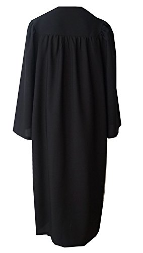 Grad Days Unisex Adult Choir Robes Matte Finish Confirmation Robe Black 51 by Grad Days (Image #1)