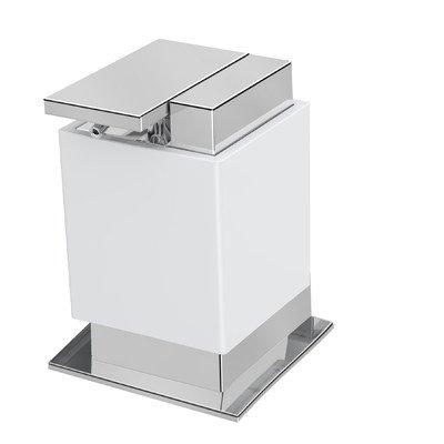 One Soap Dispenser Color: White