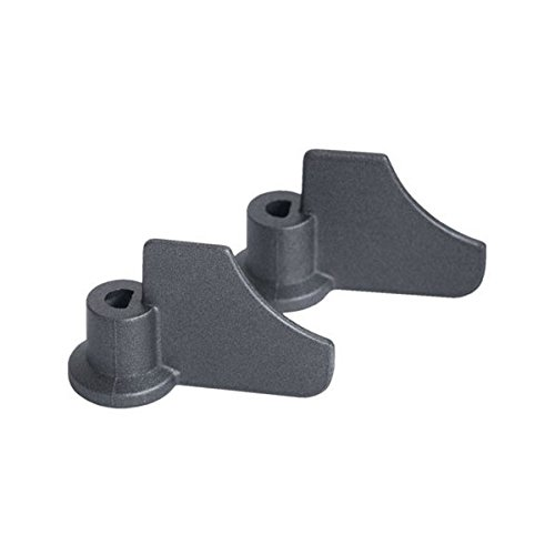 NEW Kneading Paddle Set MOULINEX TEFAL T-FAL Spare Part #'s 1500185951 1500186156 1500188284 1500189742 SS-185951 SS-186156 SS-188284 SS-189742 XA900110 Dough Mixing Blade [Kneader Pair/Yeast Bundle]