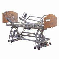 Intro Bed, 1EA, Head And Foot Boards, Rectangular, Montana Walnut -