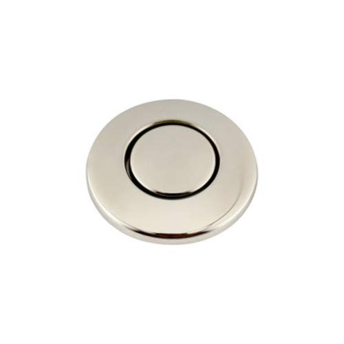 - InSinkErator STC Sink Top Mounted Air Switch for Garbage Disposals, Polished Nickel