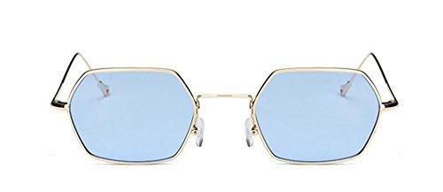 Lennon en métallique rond Plaque Bleue cercle soleil du retro style de inspirées lunettes polarisées vintage wzUC8Hq
