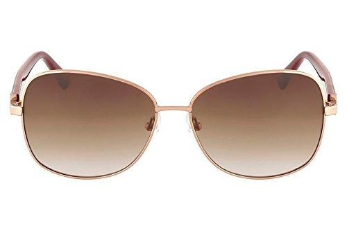 Óculos De Sol Nine West Nw116S 780/58 Dourado Rosa