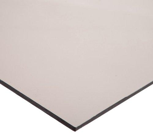 Polycarbonate (PC) Sheet, Impact Resistant, Translucent Brown, Standard Tolerance, ASTM D3935, 3/16